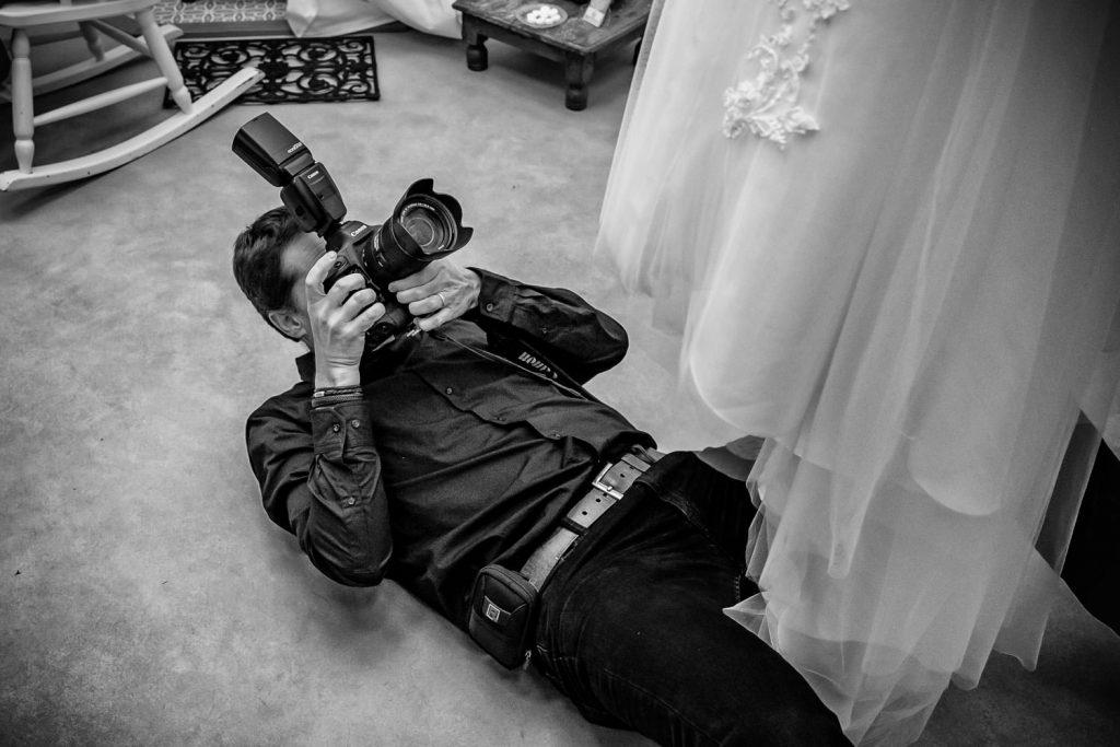 Alles voor een mooie trouwfoto