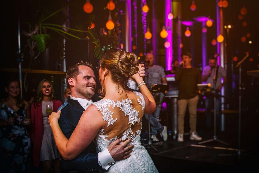 Bruidsfotografie wedding party