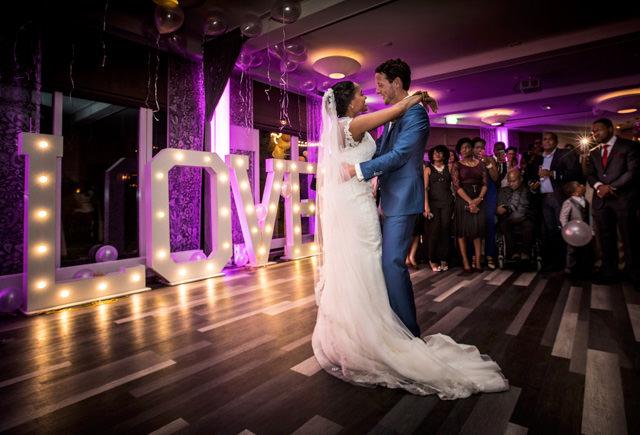 Bruidsfotografie portfolio wedding party