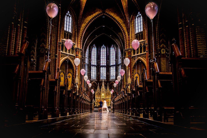 Bruidsfotografie Arno de Bruijn fotograaf bruiloft, trouwen in de kerk