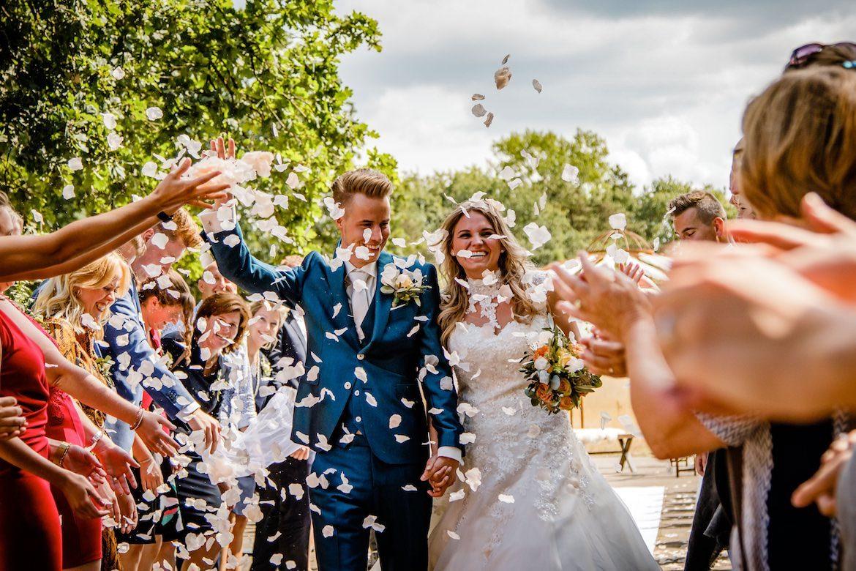 Blijdschap Emoties en echte momenten tijdens ceremonie Bruidsfotografie Arno de Bruijn fotograaf bruiloft