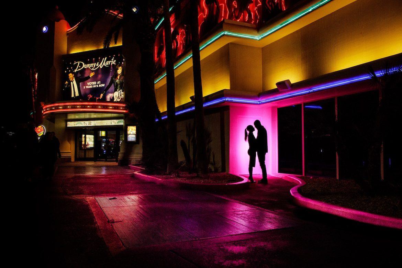 Bruidsfotograaf in het buitenland trouwreportage Las Vegas Strip
