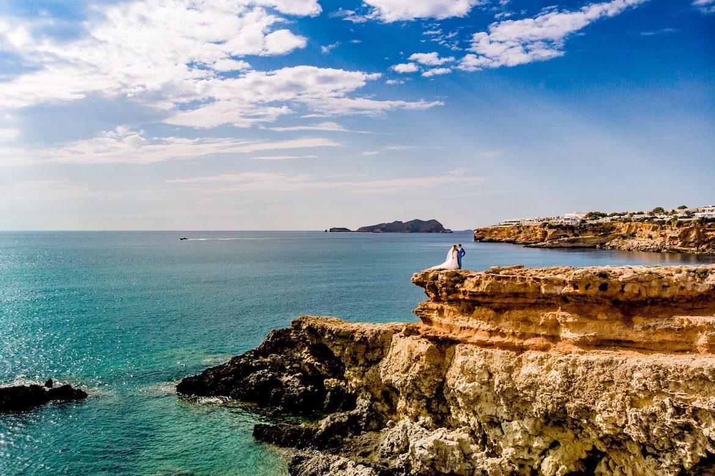 Trouwen in het buitenland trouwreportage Ibiza