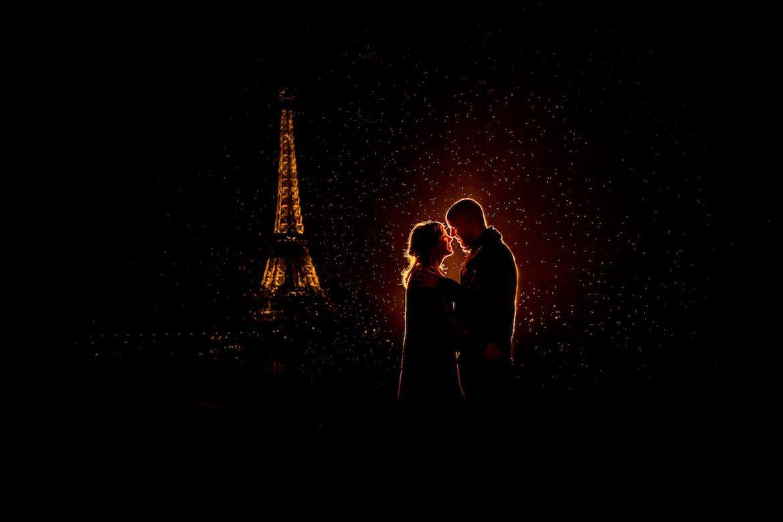 Bruidsfotograaf in het buitenland trouwreportage Parijs eiffeltoren