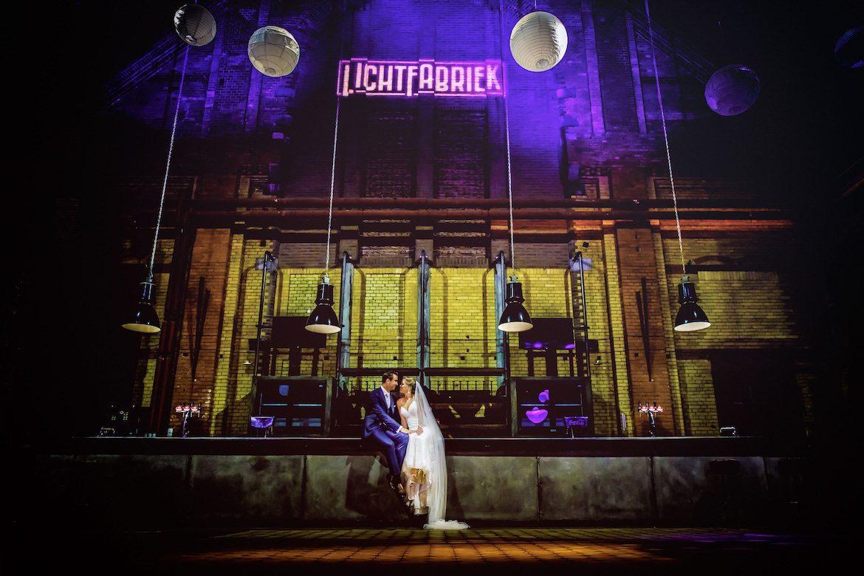 Lichtfabriek Haarlem Trouwreportage Bruidsfotografie Arno de Bruijn fotograaf bruiloft