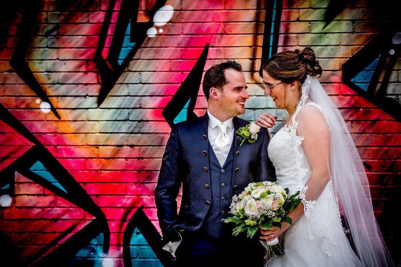 Strijp-S Eindhoven Trouwreportage Bruidsfotografie Arno de Bruijn fotograaf bruiloft