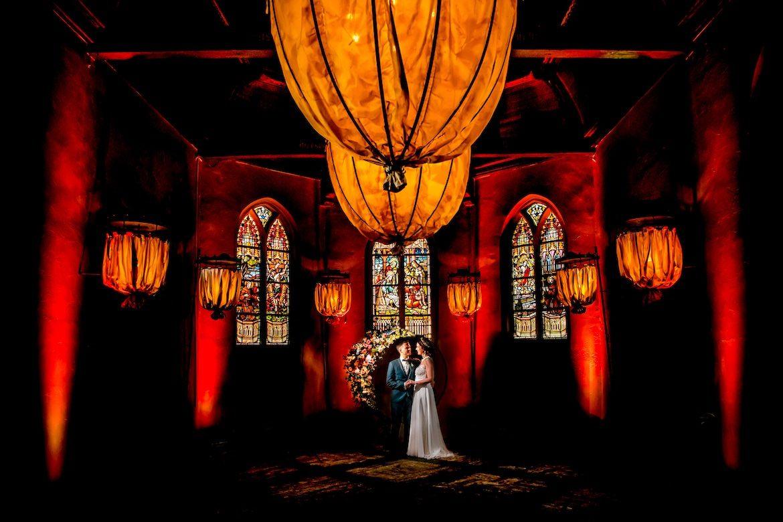 Trouwreportage bij Klooster Bethlehem Haren Bruidsfotografie Arno de Bruijn fotograaf bruiloft