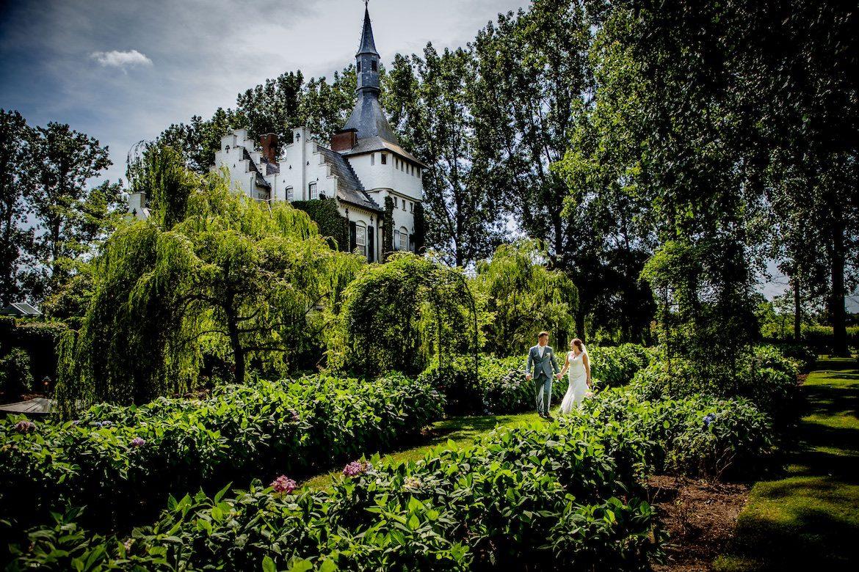 Kasteel Groot Bruchum Trouwreportage Bruidsfotografie Arno de Bruijn fotograaf bruiloft