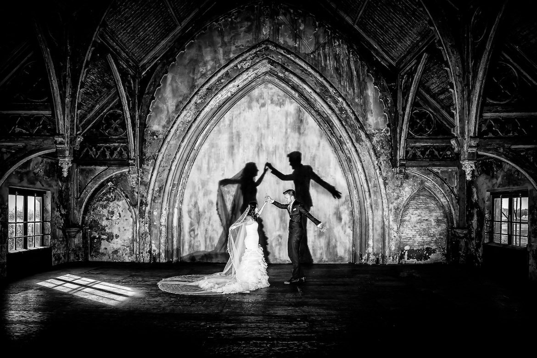 Metaal Kathedraal Trouwreportage Bruidsfotografie Arno de Bruijn fotograaf bruiloft